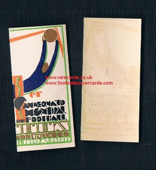 1930 WC30 World Cup poster stamp with gum, original unused umm